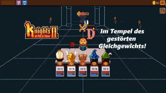Knights of Pen and Paper 2 – #11 – Im Tempel des gestörten Gleichgewichts!