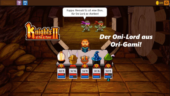 Knights of Pen and Paper 2 – #13 – Der Oni-Lord aus Ori-Gami!