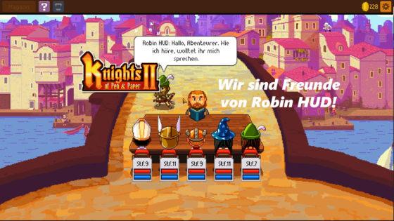 Knights of Pen and Paper 2 – #7 – Wir sind Freunde von Robin HUD!