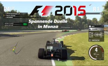 F1 2015 – #2 – Spannende Duelle in Monza