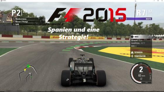 F1 2015 – #3 – Spanien und eine Strategie!