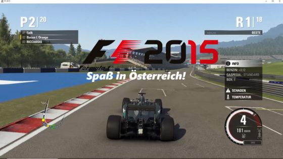 F1 2015 – #4 – Spaß in Österreich