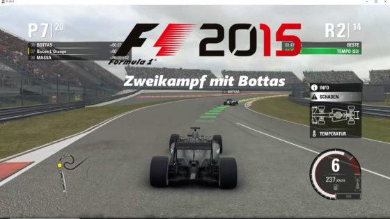 F1 2015 – #6 – Zweikampf mit Bottas!