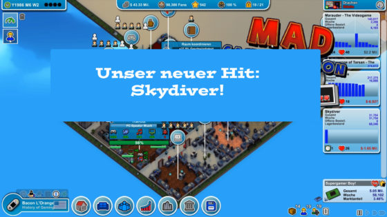 Mad Games Tycoon – #22 – Unser neuer Hit: Skydiver