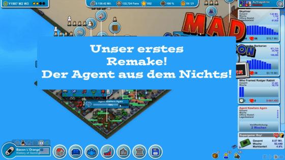 Mad Games Tycoon – #25 – Unser erstes Remake! Der Agent aus dem Nichts!