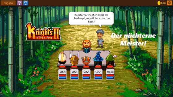 Knights of Pen and Paper 2 – #20 – Der nüchterne Meister