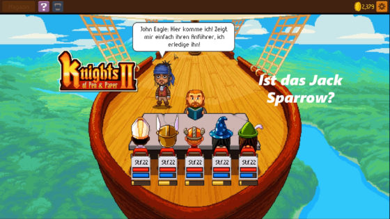 Knights of Pen and Paper 2 – #22 – Ist das Jack Sparrow?