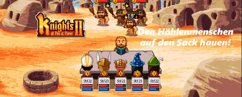 Knights of Pen and Paper 2 – #23 – Den Höhlenmenschen einen auf den Sack hauen!
