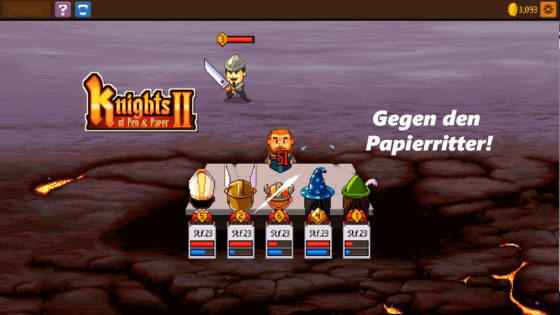 Knights of Pen and Paper 2 – #24 – Gegen den Papierritter