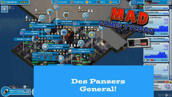 Mad Games Tycoon – #31 – Des Panzers General