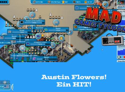 Mad Games Tycoon – #36 – Austin Flowers! Ein Hit!