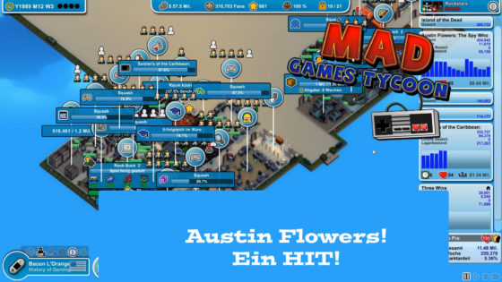 Mad Games Tycoon – #36 – Austin Flowers! Ein Hit!