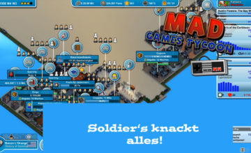 Mad Games Tycoon – #37 – Soldier's knackt alles!