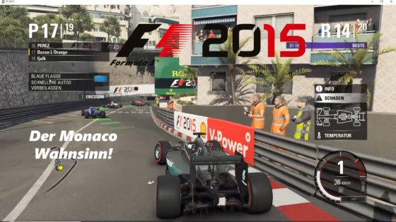 F1 2015 – #10 – Der Monaco Wahnsinn