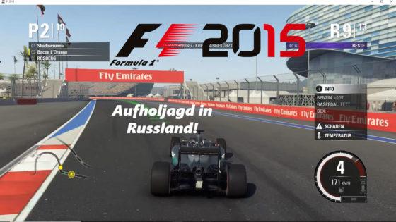 F1 2015 – #8 – Aufholjagd in Russland