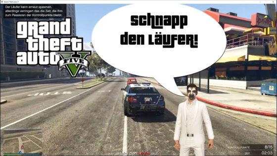 GTA V (Grand Theft Auto) – #313 – Schnapp den Läufer!