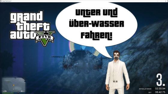 GTA V (Grand Theft Auto) – #314 – Unter- und Überwasser fahren!