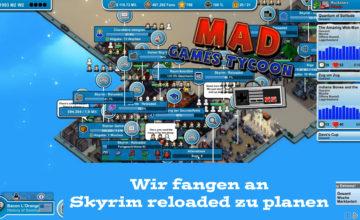 Mad Games Tycoon – #50 – Wir fangen an Skyrim reloaded zu planen