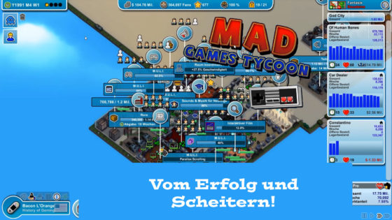 Mad Games Tycoon – #41 – Vom Erfolg und Scheitern!