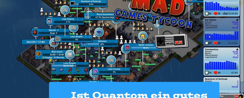 Mad Games Tycoon – #43 – Ist Quantom ein gutes Bond Spiel?