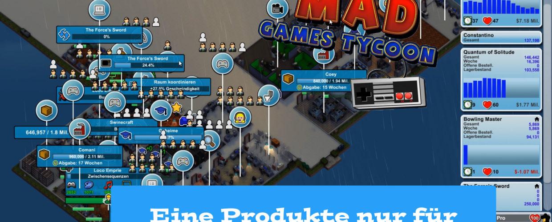 Mad Games Tycoon – #44 – Eine Produktion nur für eigene Veröffentlichungen