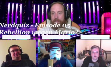 Nerdquiz – Episode 05 – Rebellion wegen Mario?