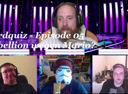 Nerdquiz – Episode 05 – Rebellion wegen Mario?