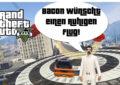 GTA V (Grand Theft Auto) - #316 - Bacon wünscht einen ruhigen Flug!
