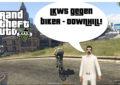 GTA V (Grand Theft Auto) - #318 - LKWs gegen Biker Downhill!