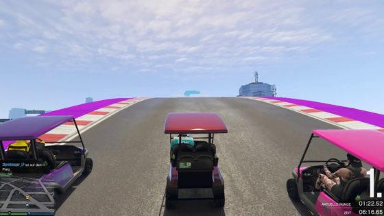 GTA V Online 🏎 #321 – Karambolage im Caddy!