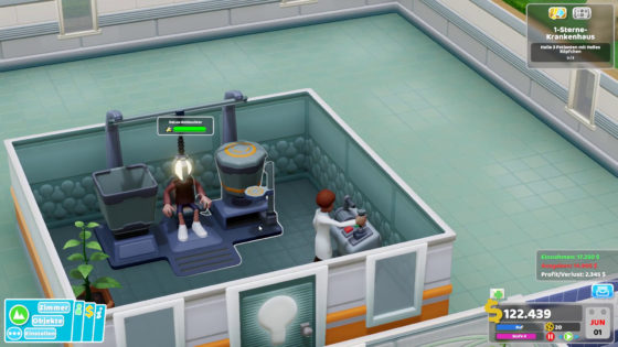 Two Point Hospital ? 02 – Ne echte Leuchte!