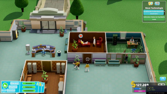 Two Point Hospital ? 03 – Seelenklempner!