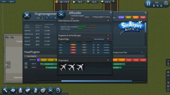 SimAirport – #1 – Einen Flughafen eröffnen