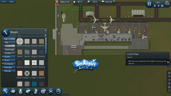 SimAirport – #13 – Ein komplexer Bau entsteht!