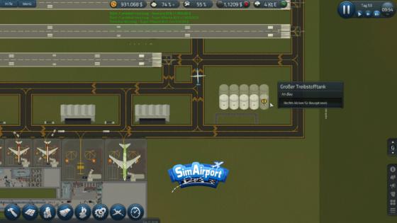 SimAirport – #16 – Können wir auch Treibstoff?