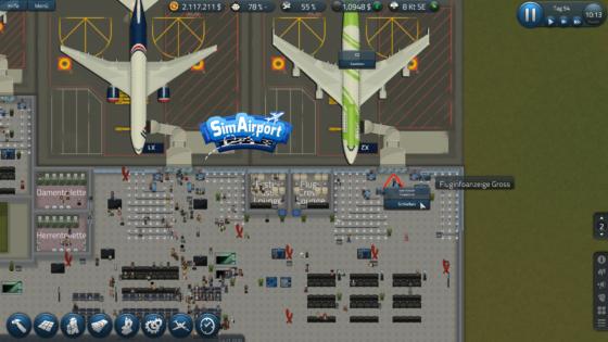 SimAirport – #17 – Brauchen wir mehr Gate Schalter?