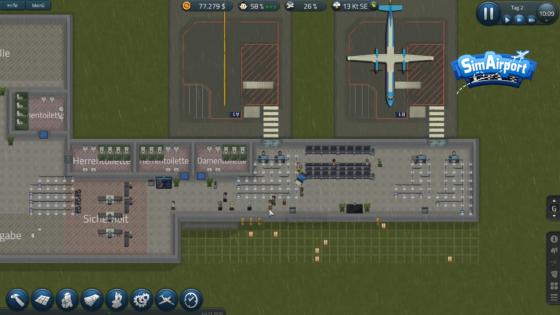 SimAirport – #2 – Die ersten Passagiere kommen