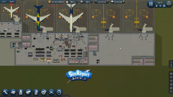 SimAirport – #21 – Warten auf der Baustelle