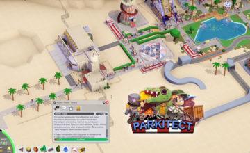 Parkitect 🎡 – #17 – Unsere Oase in der Wüste!