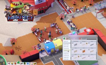 Parkitect 🎡 – #19 – Wir bauene einen kleinen Plaza