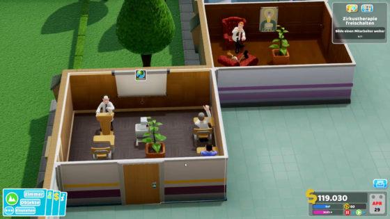 Two Point Hospital ? 06 – Einbildung ist auch 'ne Bildung!