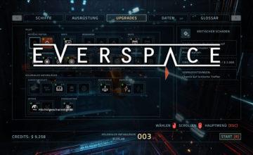 Everspace – #4 – Wie investieren wir unsere Punkte?