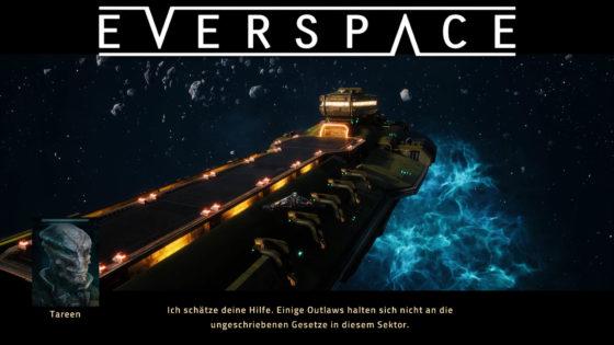 Everspace – #6 – Treffen mit Tareen
