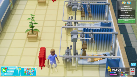 Two Point Hospital ? 08 – Hals- und Beinbruch!