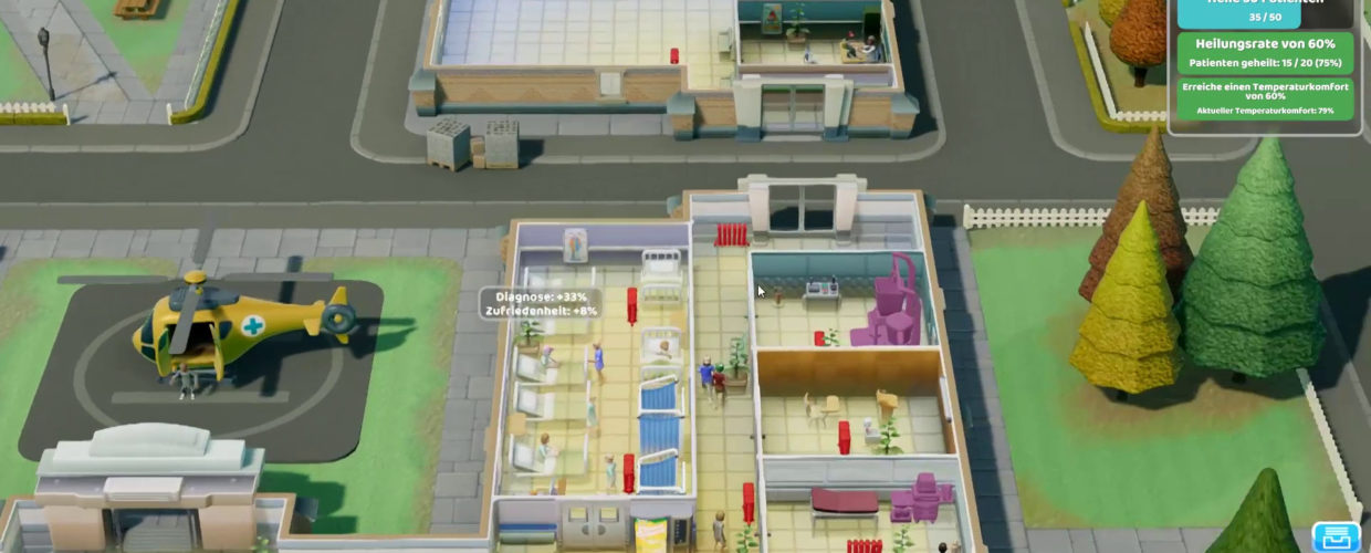 Two Point Hospital 🏥 10 – Wir expandieren!