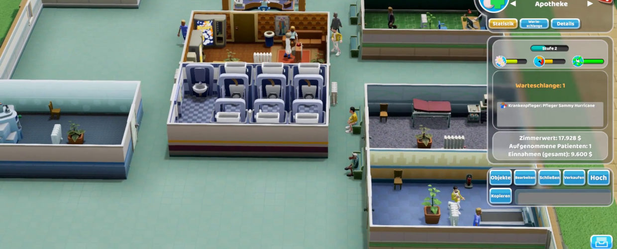 Two Point Hospital 🏥 14 – Schickimicki in Flemington!