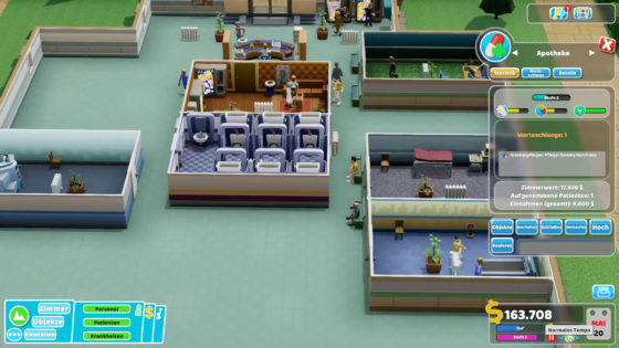 Two Point Hospital ? 14 – Schickimicki in Flemington!