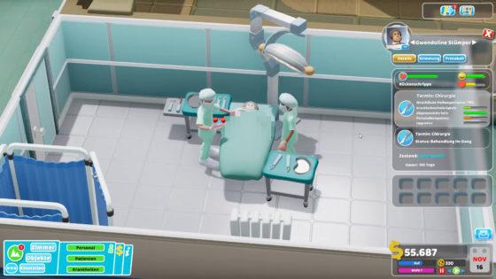 Two Point Hospital ? 23 – Aufschneiden und mal reinschauen!