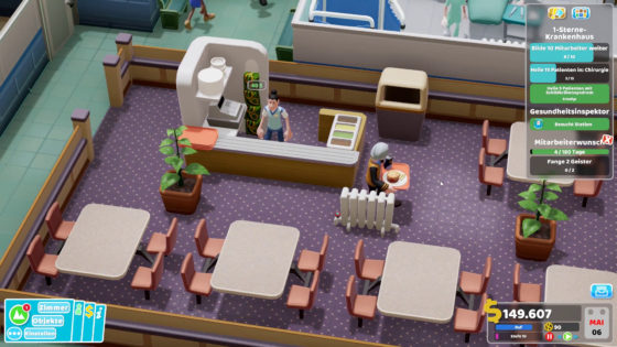 Two Point Hospital ? 24 – Mampfi, mampfi!