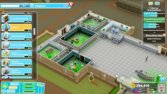 Two Point Hospital ? 34 – Grüner Daumen!